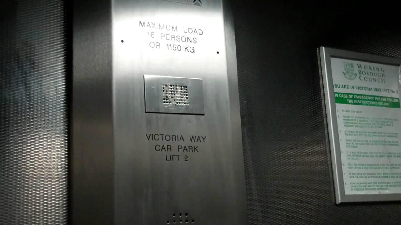 Victoria way car park