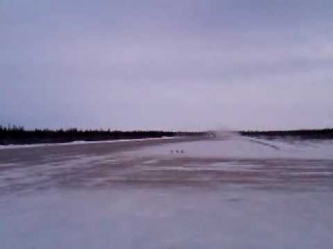 King Air A100 Takeoff out of Attawapiskat (CYAT)