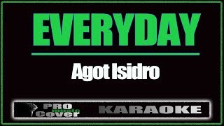 Cover images Everyday - AGOT ISIDRO (KARAOKE)