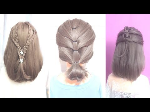 Top Amazing Hairstyles for Short Hair 2019 Best Hairstyles for Girls | 短发 编发示范 7