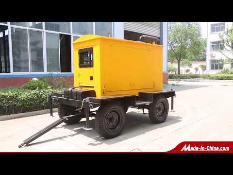 Starlight Power - Mobile Trailer Diesel Generator Set 15KW To 1000KW