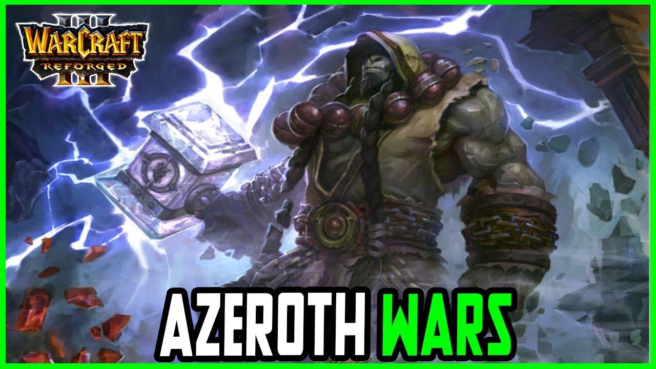 NEW Azeroth Wars V1.13 | Frostwolf Clan | Warcraft 3 Reforged