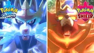 Pokémon Sword & Shield - Legendaries Reveal Trailer Nintendo Direct 2019 HD