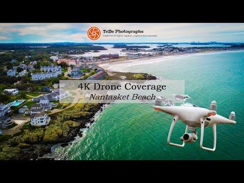 4K Drone Coverage | Nantasket Beach
