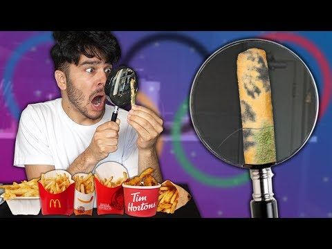 Who has the BEST Fries?! Fast Food Olympics (Eating Show Challenge)