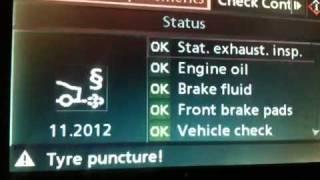 Reset pneu BMW serie 5