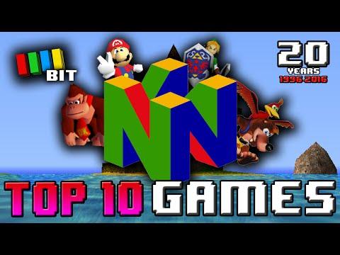 Top 10 NINTENDO 64 Games EVER! [1996-2016] (Nintendo 64 20th Anniversary) TetraBitGaming