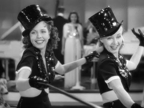 'Put Your Heart Into Your Feet and Dance' | Stage Door (1937) | Ginger Rogers, Ann Miller
