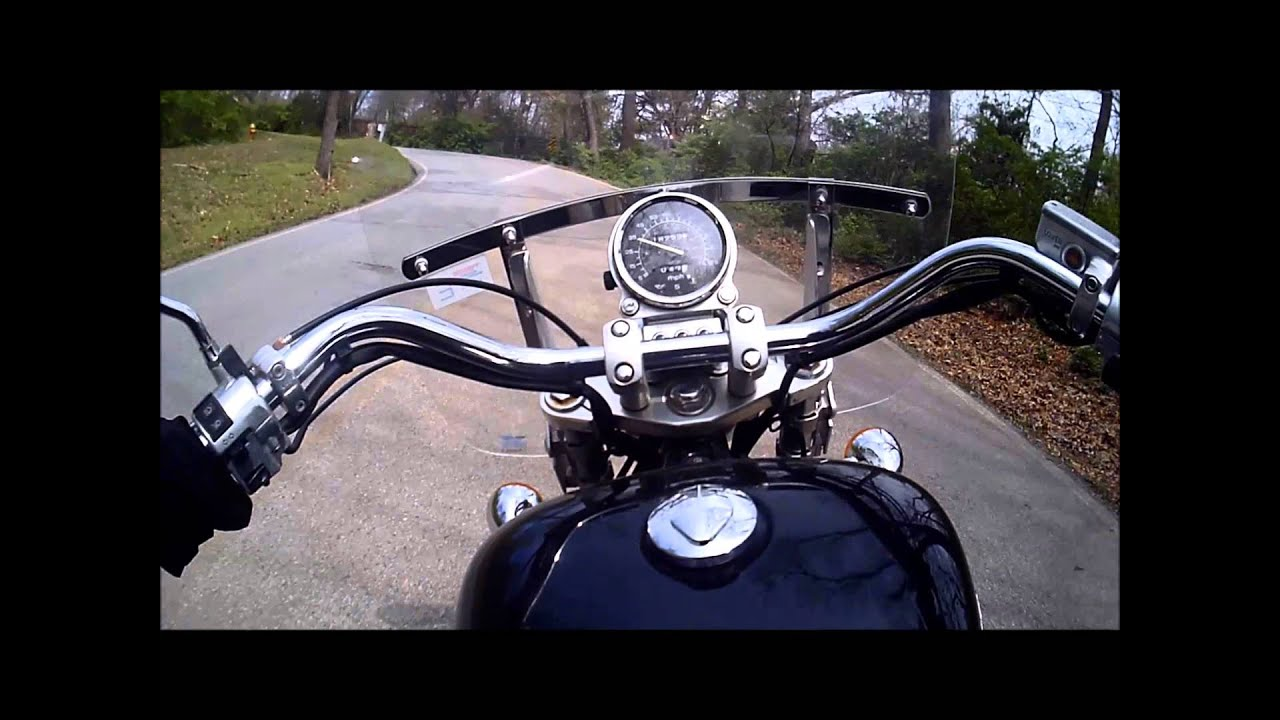 going to work on my honda shadow ace 1100 [ 1280 x 720 Pixel ]