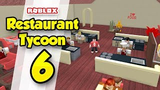 RESTAURANT TYCOON #6 - KITCHEN UPGRADES (Roblox Restaurant Tycoon)