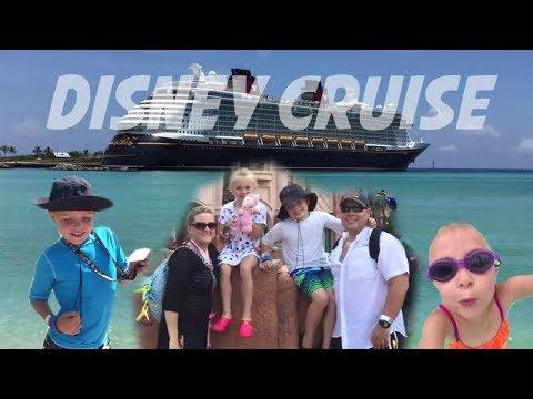 DIsney Cruise on The Disney Dream 2017 (FULL TRIP!) Castaway Cay, Atlantis, Mickey Mouse & More!