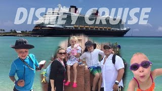 DIsney Cruise on The Disney Dream 2017 (FULL TRIP!) Castaway Cay, Atlantis, Mickey Mouse & More!