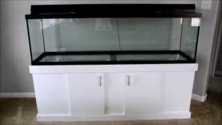 125 Gallon Fish Tank Project Part 3 - Tank And Stand Inside
