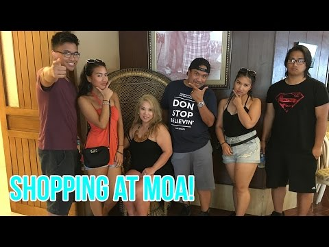 [VLOG] Shopping & A WIZARD'S GALLERY?! #OcampoPhilippines201