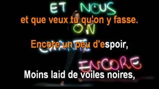 LES ENFOIRES - ENCORE UN AUTRE HIVER - KARAOKE.mp4