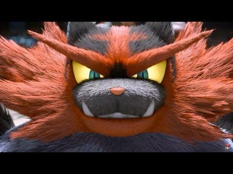 Super Smash Bros Ultimate Incineroar & Ken Reveal Trailer Nintendo Direct 2018