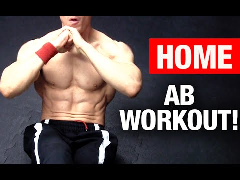 Best Home Ab Workout (NO EQUIPMENT - ANY LEVEL!)