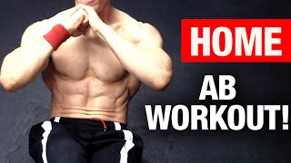 Best Home Ab Workout (NO EQUIPMENT - ANY LEVEL!)(Get abs like an athlete with ATHLEAN-X here... http://athleanx.com/x/abs-like-an-athlete-now Home ab workouts are one of the best ways to assist in getting six ..., 2015-01-01T02:02:24.000Z)