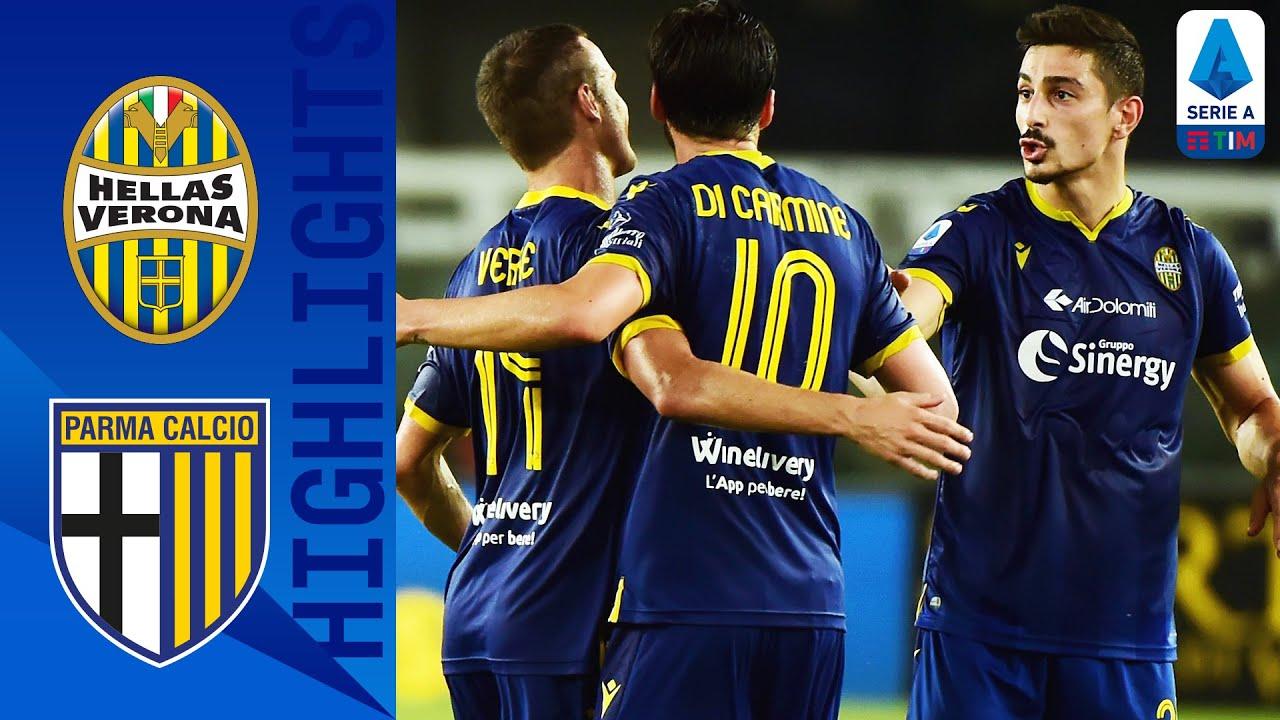 Hellas Verona 3-2 Parma | Hellas Verona Fight Back to Edge 5-Goal Thriller | Serie A TIM