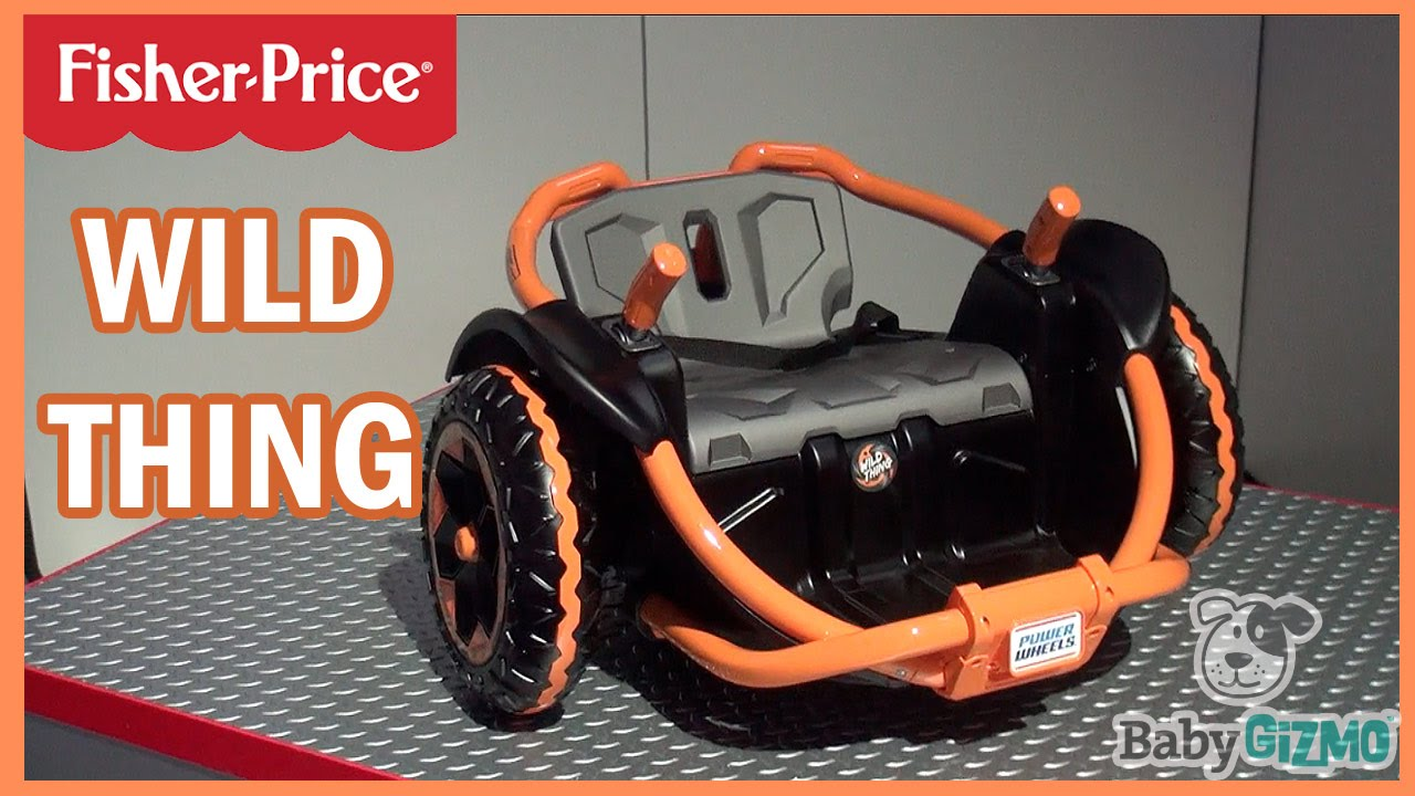 NEW Fisher Price Power Wheels Wild Thing Rideon for
