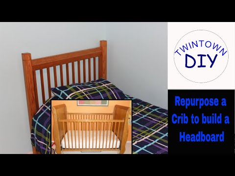 DIY Twin Size Headboard