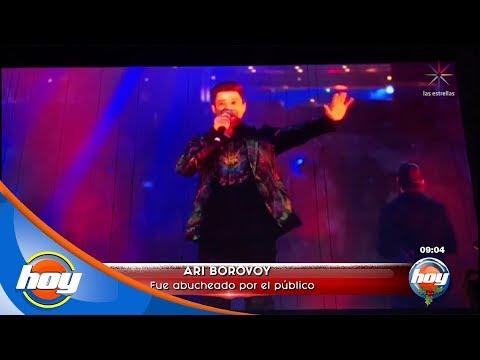 Ari Borovoy fue abucheado por el público | Hoy
