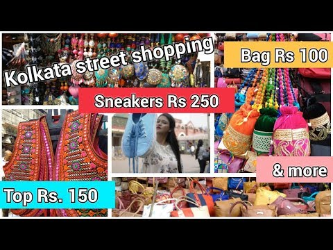 Kolkata Street Shopping | Esplanade Haul | Bought 9 Items With Less Than Rs 1500