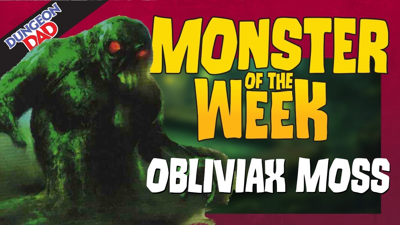 The D&D Creature You'll Never Remember - Obliviax - Monster of the Week -  Dungeons & Dragons [D&D]