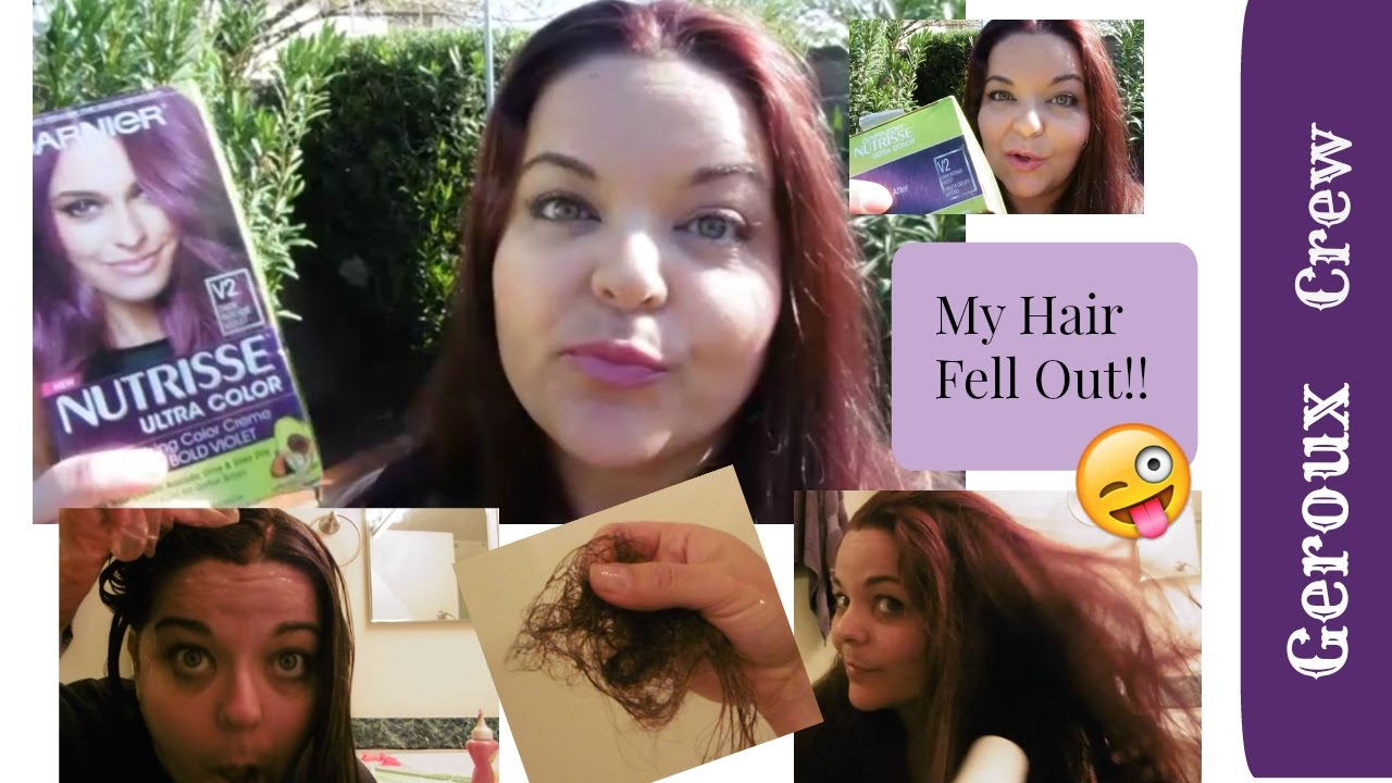 Coloring My Hair Quot Intense Violet Quot At Home Youtube