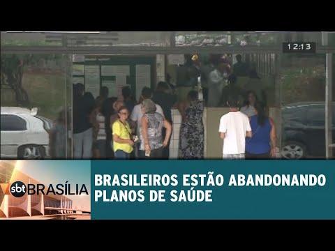 Brasileiros estão abandonando planos de saúde | SBT Brasília 13/08/2018