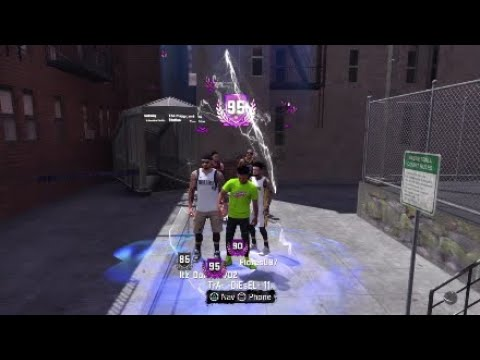NBA 2K18 91 TO 95 OVERALL IN ONE DAY! INVISIBLE BODY GLITCH!
