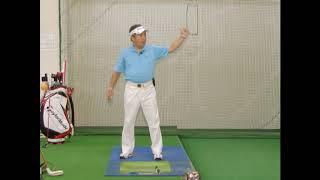 【ゴルフ】インパクトゾーンでの肘の動き【ゴルフライブ】 thumbnail