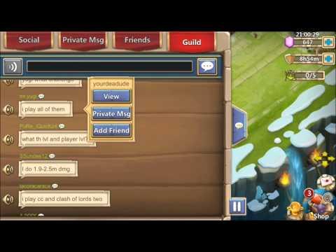 Castle Clash ITUNES Winners Plus AlwaysHostile2 Max Torch Rewards