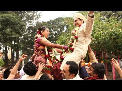 A Beautiful Bangalore Wedding : Prashanth + Anagha