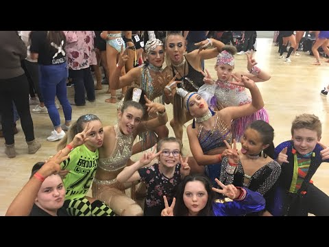 STRATFORD FREESTYLE DANCE COMPETITION VLOG!