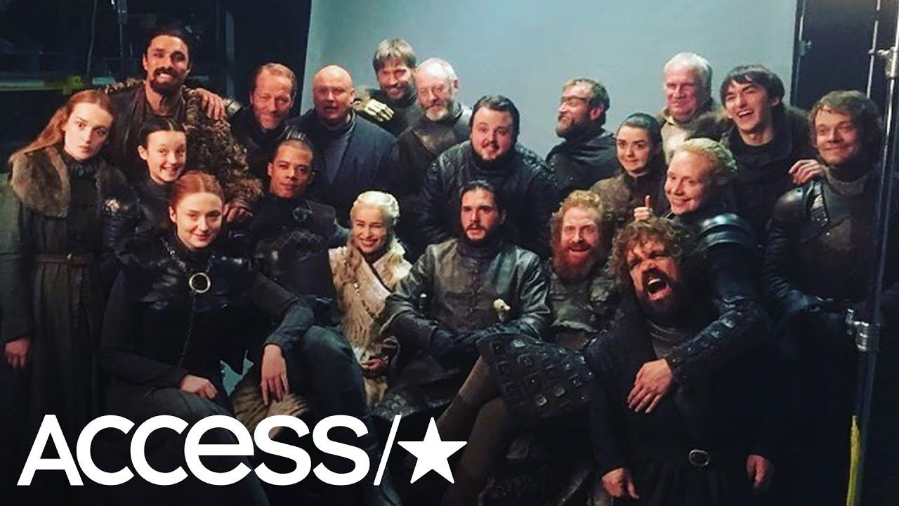 'Game Of Thrones' Stars Share Moving Memories Before The Series Finale | Access