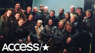'Game Of Thrones' Stars Share Moving Memories Before The Series Finale   Access