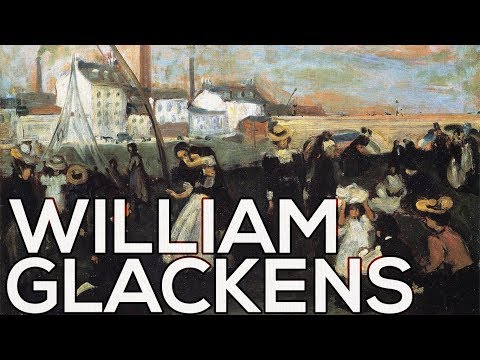 William Glackens: A collection of 304 works (HD)