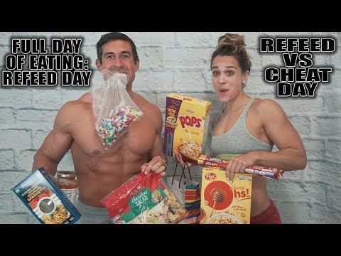Full Day of Eating on a Refeed with Macros - Refeed vs Cheat Day - Protein Ice Cream Recipe