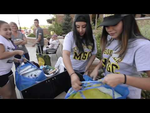 Move-In Day on the University of Colorado Boulder Campus