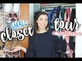 SMALL CLOSET TOUR + How you Can Shop My Used Clothes!