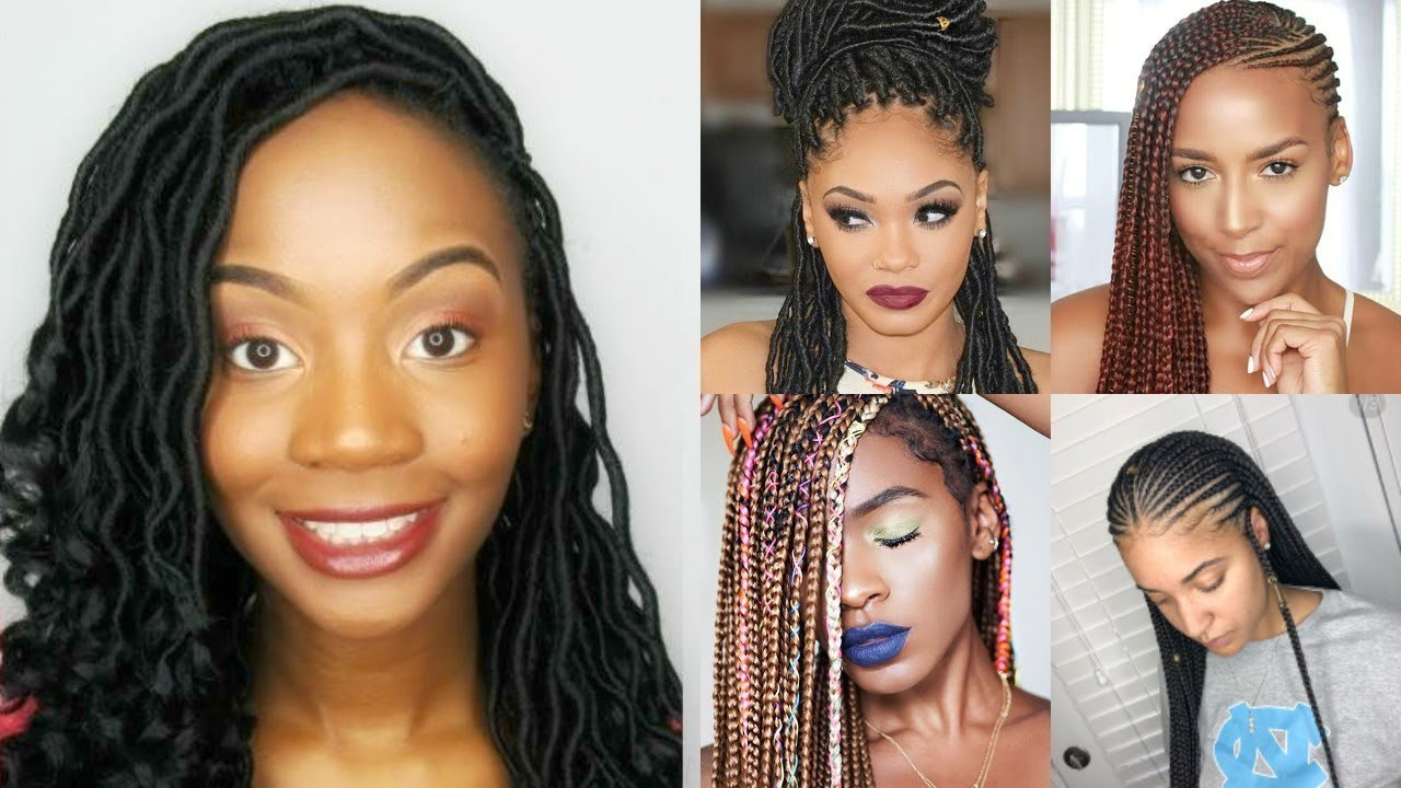 Vacation Hairstyle Ideas For Black Women   YouTube
