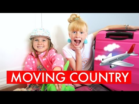 PACKiNG UP TO MOVE COUNTRY