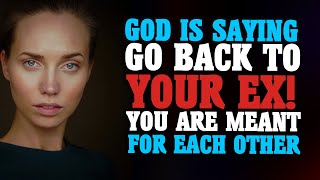 GOD IS TELLING YΟU DON'T MOVE ON YET FROM YOUR EX THAT'S THE RIGHT PERSON