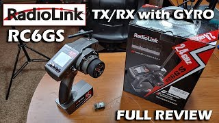 radiolink RC6GS TX/RX with Gyro Review