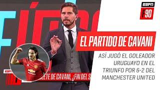 ¡#ESPNF90 analizó el partidazo de #Cavani ante la #Roma! ¿Llega a #Boca?
