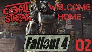 Fallout 4! #02 - Welcome Home - Cobalt Streak