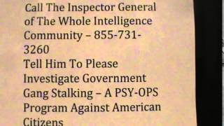 Street Theater in Government Gang Stalking or Coincidence?  You Decide. - 12/4/2014