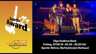 Sparda Jazz Award 2019 | Olga Dudkova Band - Good Morning Headache