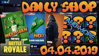 Fortnite New Item Shop 04.04.2019 Fortnite ITEM SHOP Daily Shop April 4th New Skins